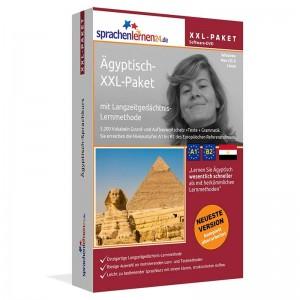 Ägyptisch XXL-Paket-Komplettkurs-Niveau A1-B2