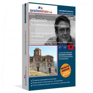 Albanisch-Fachwortschatz Vokabeltrainer-Niveau C1/C2