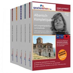 Albanisch Komplettpaket-Das rundum sorglos Paket-Niveau A1-C2