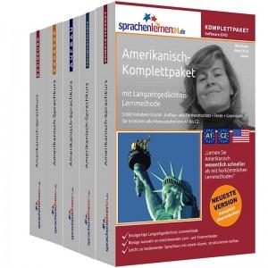 Amerikanisch Komplettpaket-Das rundum sorglos Paket-Niveau A1-C2