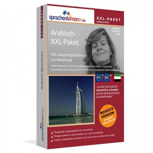 Arabisch XXL-Paket-Komplettkurs-Niveau A1-B2