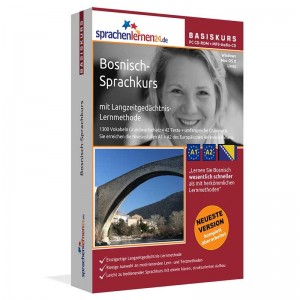 Bosnisch für Anfänger-Multimedia Sprachkurs-A1/A2+MP3-Audio-Paket