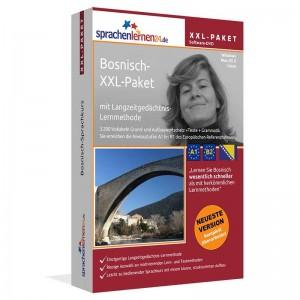 Bosnisch XXL-Paket-Komplettkurs-Niveau A1-B2