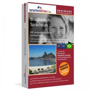 Brasilianisch für Anfänger-Sprachkurs-A1/A2+MP3-Audio-Paket