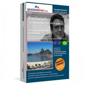 Brasilianisch-Fachwortschatz Vokabeltrainer-Niveau C1/C2