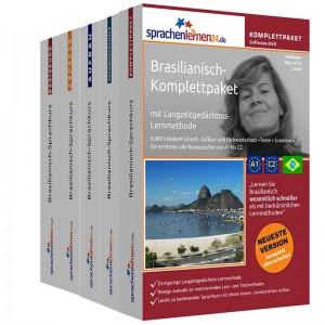 Brasilianisch Komplettpaket-Das rundum sorglos Paket-Niveau A1-C2