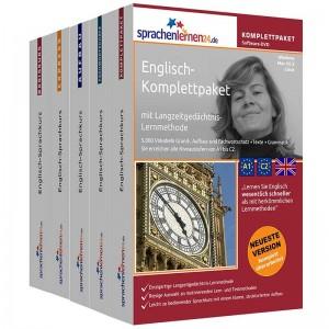 Englisch Komplettpaket-Das rundum sorglos Paket-Niveau A1-C2