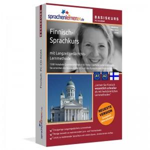 Finnisch für Anfänger-Multimedia Sprachkurs-A1/A2