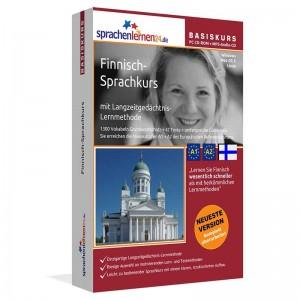 Finnisch für Anfänger-Multimedia Sprachkurs-A1/A2+MP3-Audio-Paket