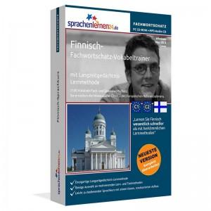 Finnisch-Fachwortschatz Vokabeltrainer-Niveau C1/C2