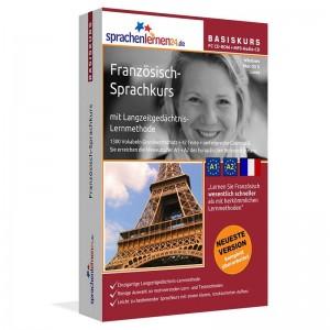 Französisch für Anfänger-Multimedia Sprachkurs-A1/A2+MP3-Audio-Paket