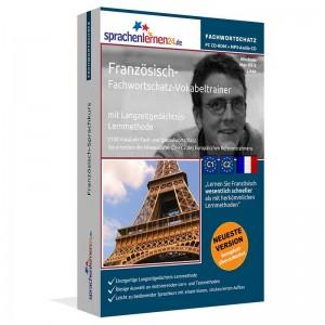 Französisch-Fachwortschatz Vokabeltrainer-Niveau C1/C2