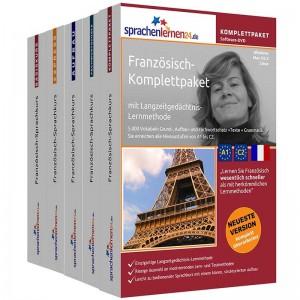 Französisch Komplettpaket-Das rundum sorglos Paket-Niveau A1-C2