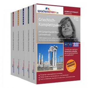 Griechisch Komplettpaket-Das rundum sorglos Paket-Niveau A1-C2