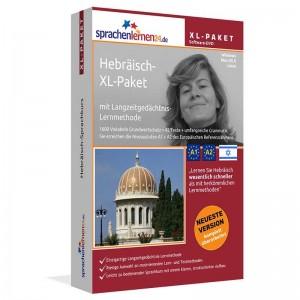 Hebräisch XL-Paket-Sprachkurs-Sparpaket-Niveau A1-A2