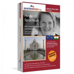 Hindi für Anfänger-Indisch-Multimedia Sprachkurs-A1/A2