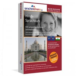 Hindi für Anfänger-Multimedia-Sprachkurs-A1/A2+MP3-Audio-Paket