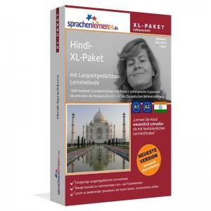 Hindi XL-Paket-Indisch Sprachkurs-Sparpaket-Niveau A1-A2