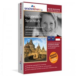 Indonesisch für Anfänger-Multimedia Sprachkurs-A1/A2+MP3-Audio-Paket