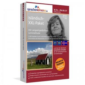 Isländisch XXL-Paket-Komplettkurs-Niveau A1-B2