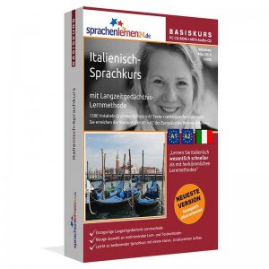 Italienisch für Anfänger-Multimedia Sprachkurs-A1/A2+MP3-Audio-Paket