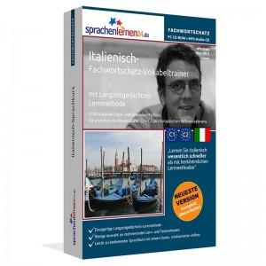 Italienisch-Fachwortschatz Vokabeltrainer-Niveau C1/C2