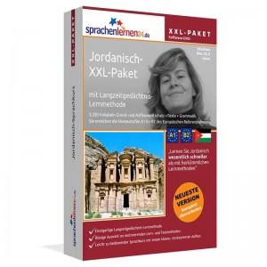Jordanisch XXL-Paket-Komplettkurs-Niveau A1-B2