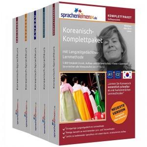 Koreanisch Komplettpaket-Das rundum sorglos Paket-Niveau A1-C2