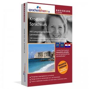 Kroatisch für Anfänger-Multimedia Sprachkurs-A1/A2+MP3-Audio-Paket