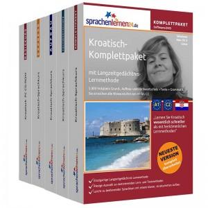 Kroatisch Komplettpaket-Das rundum sorglos Paket-Niveau A1-C2