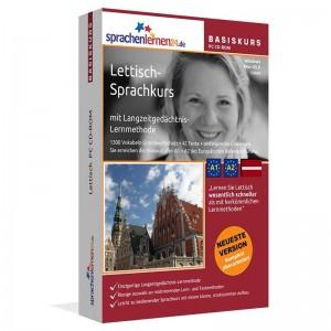 Lettisch für Anfänger-Multimedia Sprachkurs-A1/A2