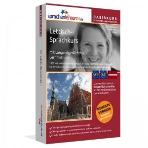 Lettisch für Anfänger-Multimedia Sprachkurs-A1/A2+MP3-Audio-Paket