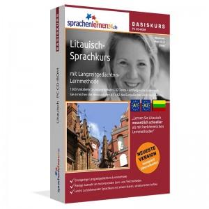 Litauisch für Anfänger-Multimedia Sprachkurs-A1/A2