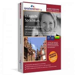 Litauisch für Anfänger-Multimedia Sprachkurs-A1/A2+MP3-Audio-Paket