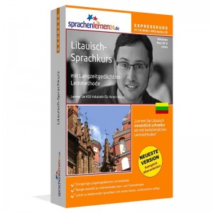 Litauisch-Express Sprachkurs-Litauisch lernen für den Urlaub