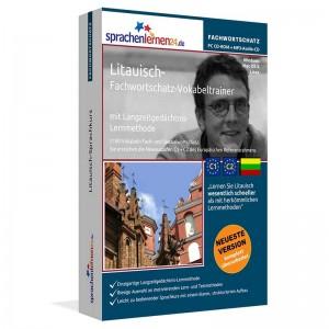 Litauisch-Fachwortschatz Vokabeltrainer-Niveau C1/C2
