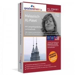 Malayisch XL-Paket-Komplettkurs-Niveau A1-A2