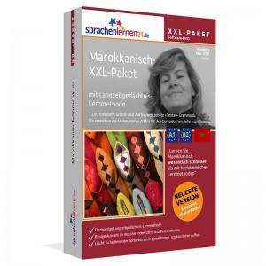 Marokkanisch XXL-Paket-Komplettkurs-Niveau A1-B2