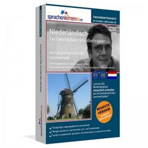 Niederländisch-Fachwortschatz Vokabeltrainer-Niveau C1/C2