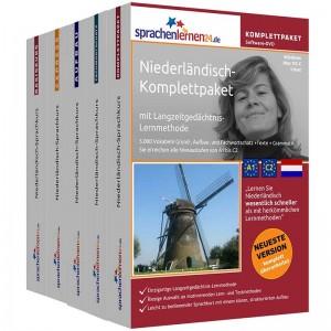 Niederländisch Komplettpaket-Das rundum sorglos Paket-Niveau A1-C2
