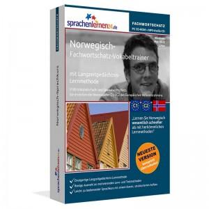 Norwegisch-Fachwortschatz Vokabeltrainer-Niveau C1/C2