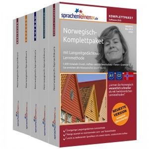 Norwegisch Komplettpaket-Das rundum sorglos Paket-Niveau A1-C2