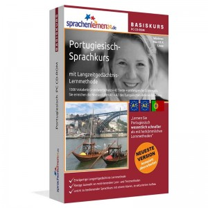 Portugiesisch für Anfänger-Multimedia Sprachkurs-A1/A2