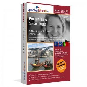 Portugiesisch für Anfänger-Multimedia Sprachkurs-A1/A2+MP3-Audio-Paket