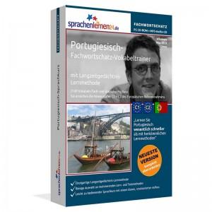 Portugiesisch-Fachwortschatz Vokabeltrainer-Niveau C1/C2