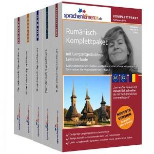 Rumänisch Komplettpaket-Das rundum sorglos Paket-Niveau A1-C2