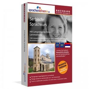 Serbisch für Anfänger-Multimedia Sprachkurs-A1/A2+MP3-Audio-Paket