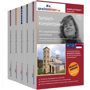 Serbisch Komplettpaket-Das rundum sorglos Paket-Niveau A1-C2