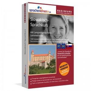 Slowakisch für Anfänger-Multimedia Sprachkurs-A1/A2+MP3-Audio-Paket