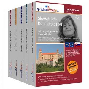 Slowakisch Komplettpaket-Das rundum sorglos Paket-Niveau A1-C2
